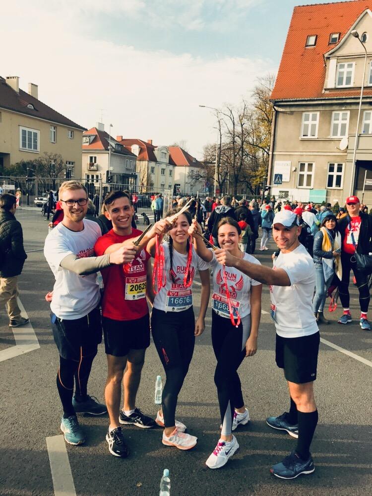 no-mlynarz.pl- Bieg Niepodległości 2018- Poznań - rogale- run - największy bieg w Polsce5