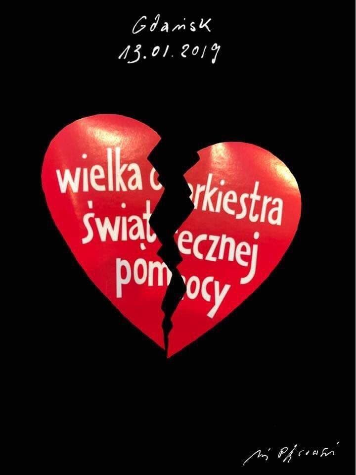 wośp - owsiak - paweładamowicz - żałoba- artysciprzeciwnienawisci- orkiestra-bez-dyrygenta