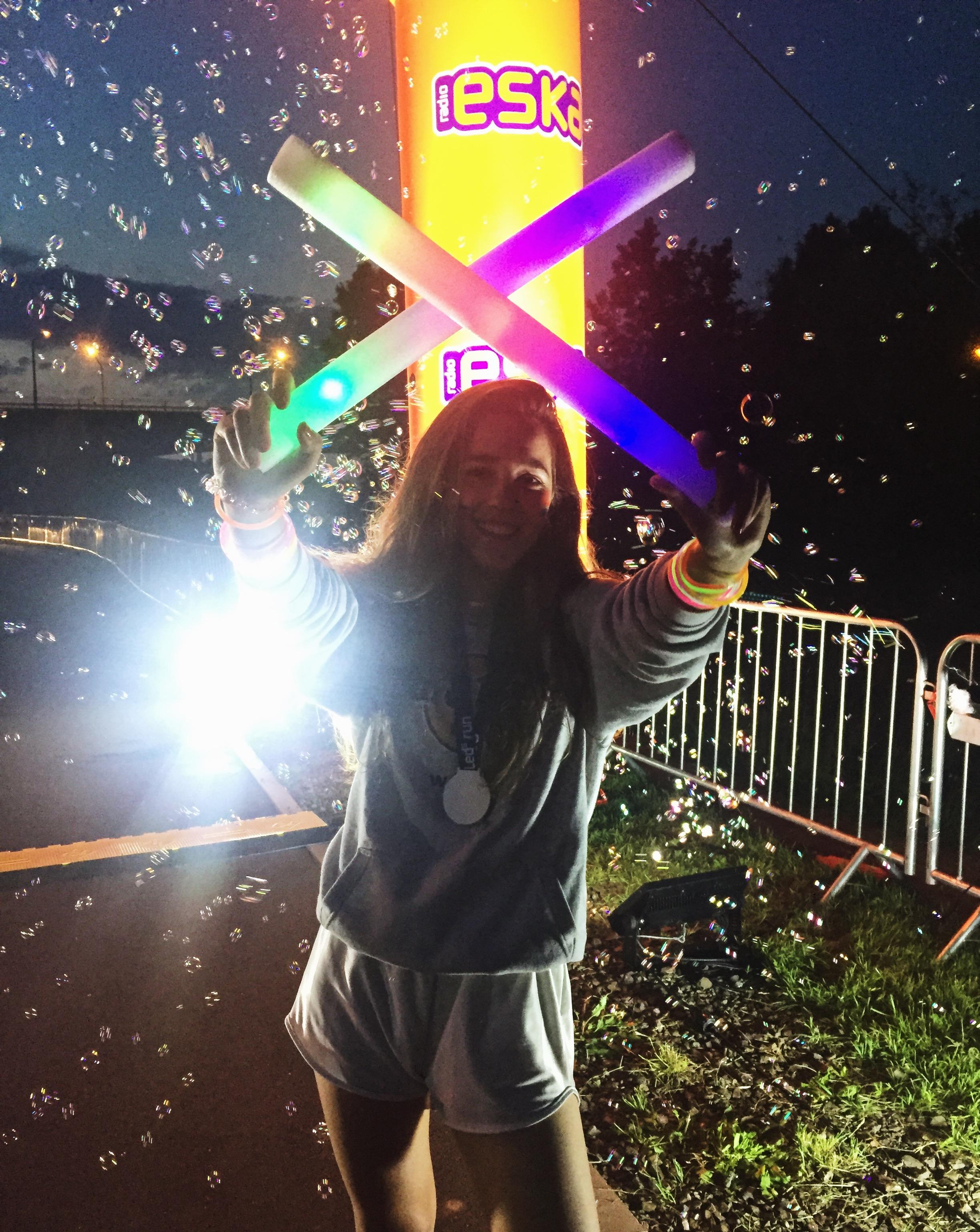 Bieg ESKA LEDs RUN relacja