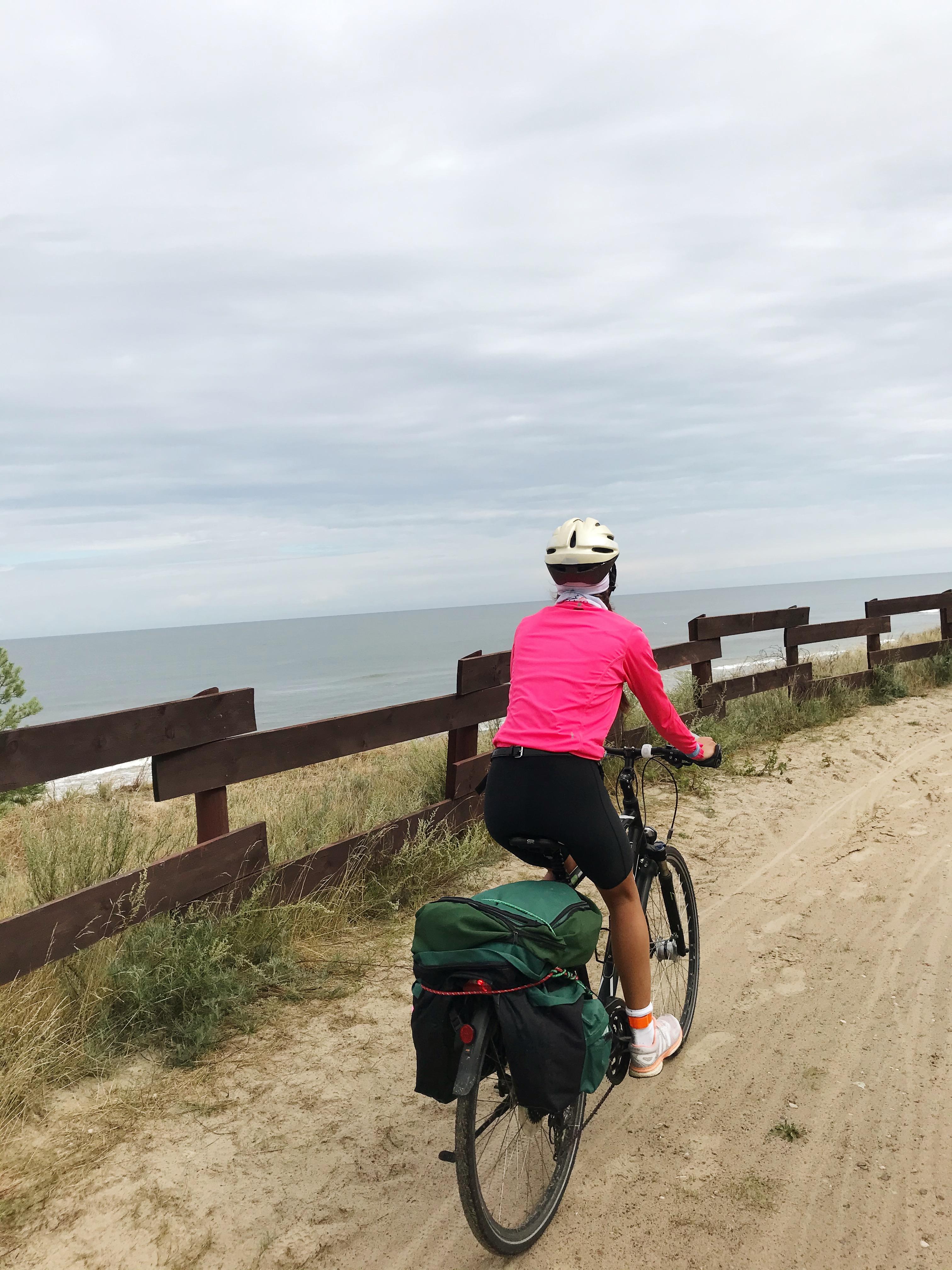 rowerem wzdłuż wybrzeża Morza Bałtyckiego 7
