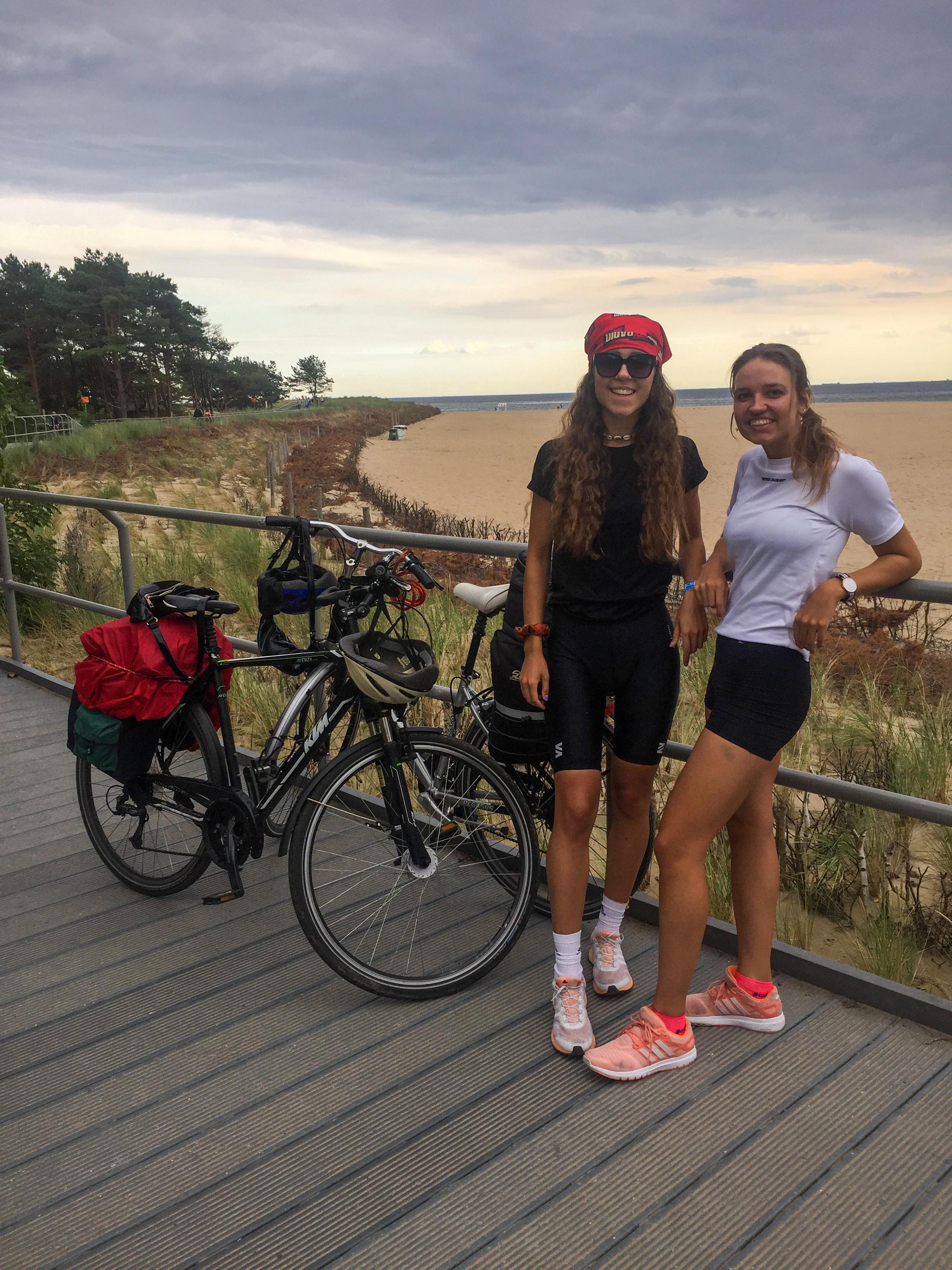 Wyprawa rowerowa wzdłuż wybrzeża Morza Bałtyckiego