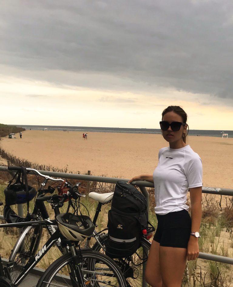 rowerem wzdłuż wybrzeża Morza Bałtyckiego 20