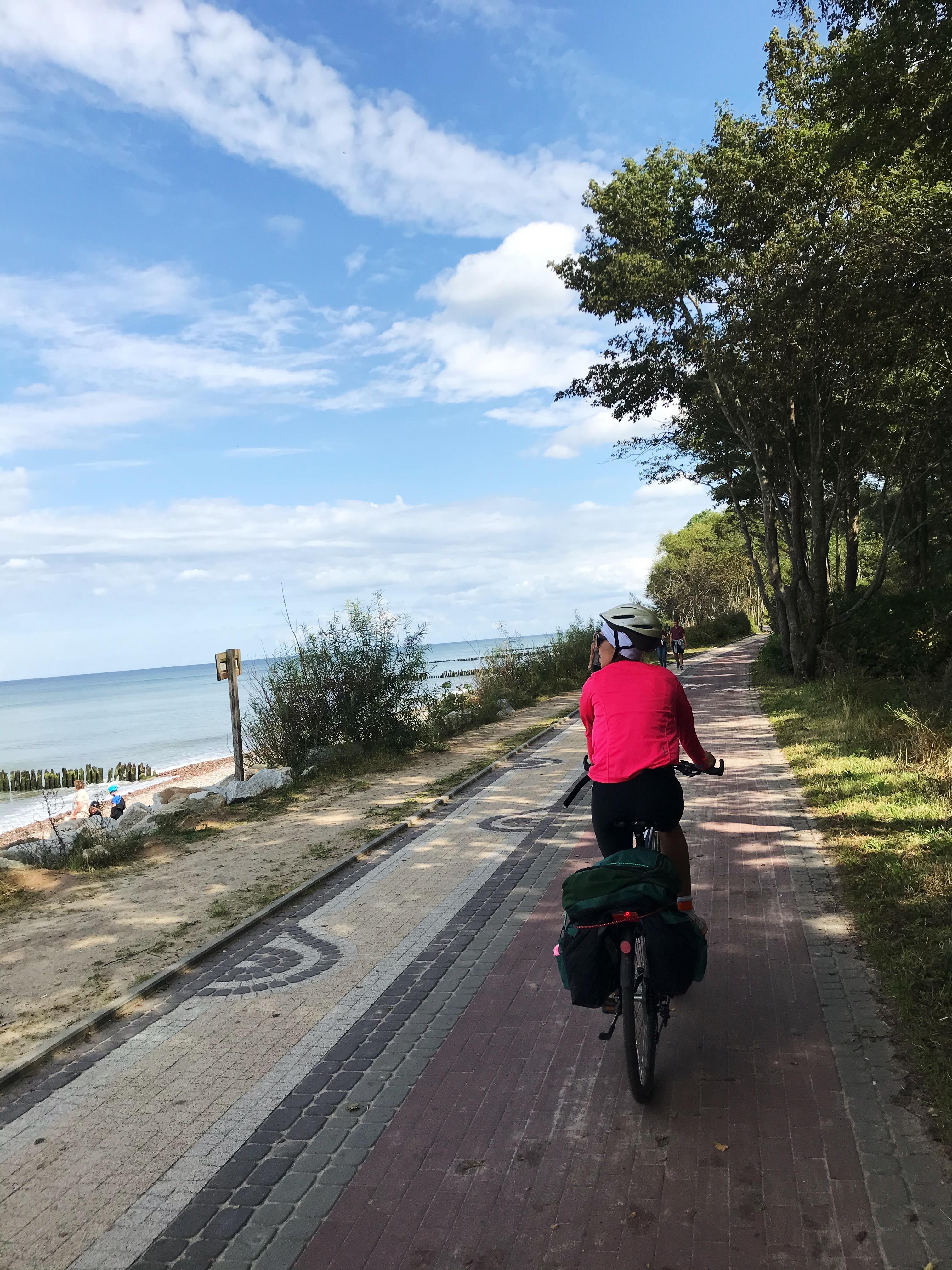 rowerem wzdłuż wybrzeża Morza Bałtyckiego 10